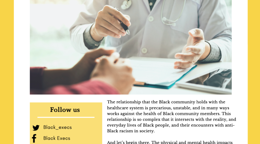 Anti Black Racism in Toronto's Health Care System
