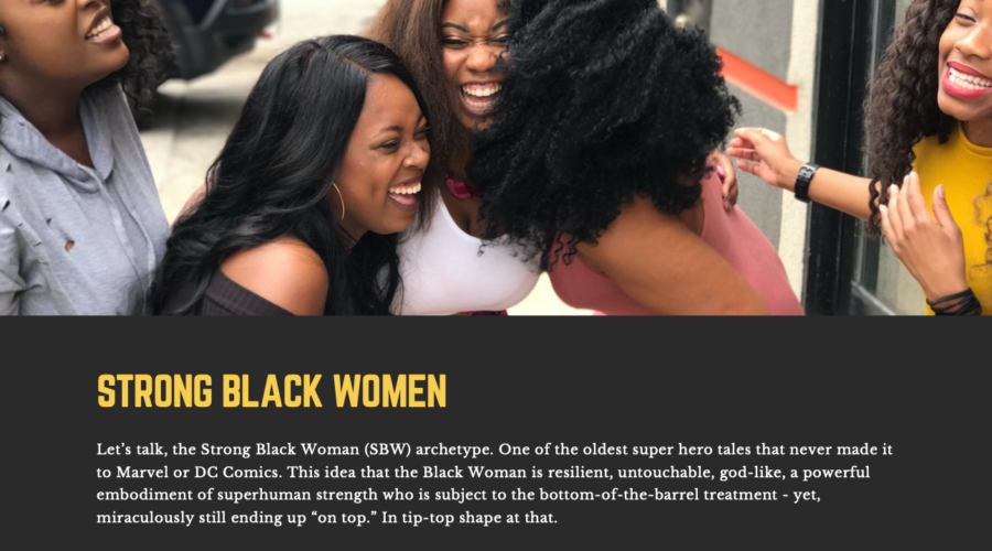 How Strong Are You?… Not As Strong As A Black Woman