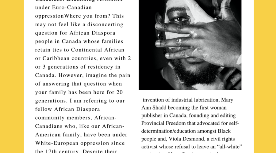 Multi-Generational African Canadians